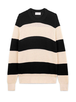 Ami - Crewneck - Rugby Stripes Sweater - Herre