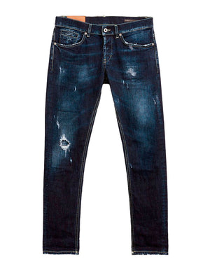 Dondup - Jeans - George Slim Jeans AN6 - Blue