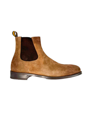 Doucals - Støvler - Chelsea Boot Lt Brown - Lysebrun