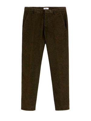 Dondup Gaubert Corduroy Slim Chinos PTD - Green