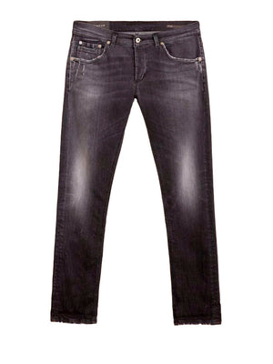 Dondup - Jeans - George Slim Jeans AO7 - Grå