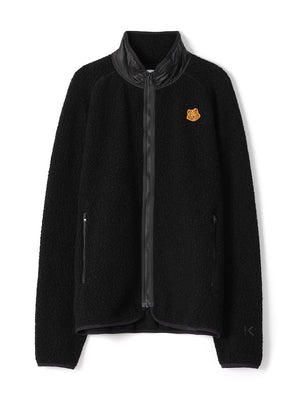 Kenzo - Fleece jakke - Lightweight Fleece Zip-Up