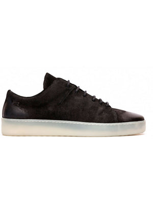 The Last Conspiracy - Sneakers - Kaden Waxed Suede - Sort
