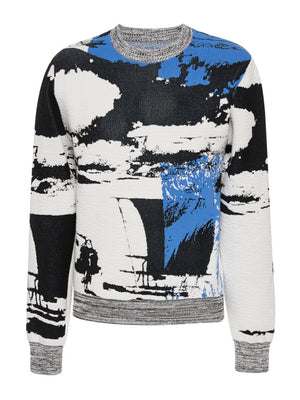 Postcard Jacquard Sweater