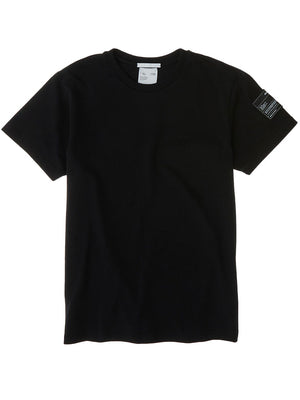 Helmut Lang - Tshirt - Patch Tee Jersey - Sort