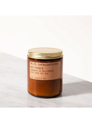 P.F. Candle - Duftlys - No. 32 Sandalwood Rose