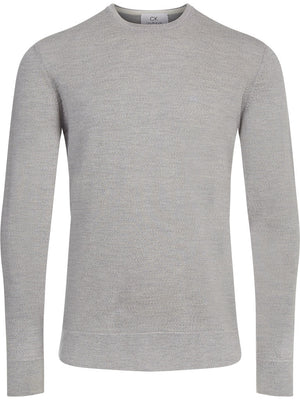 Superior Wool Crew Neck-Calvin Klein-WARDHOG