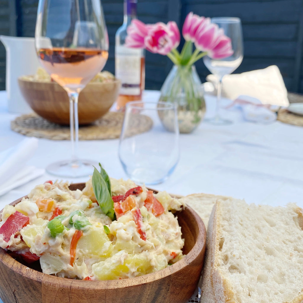 Ensaladilla Rusa: a crowd pleasing Spanish salad