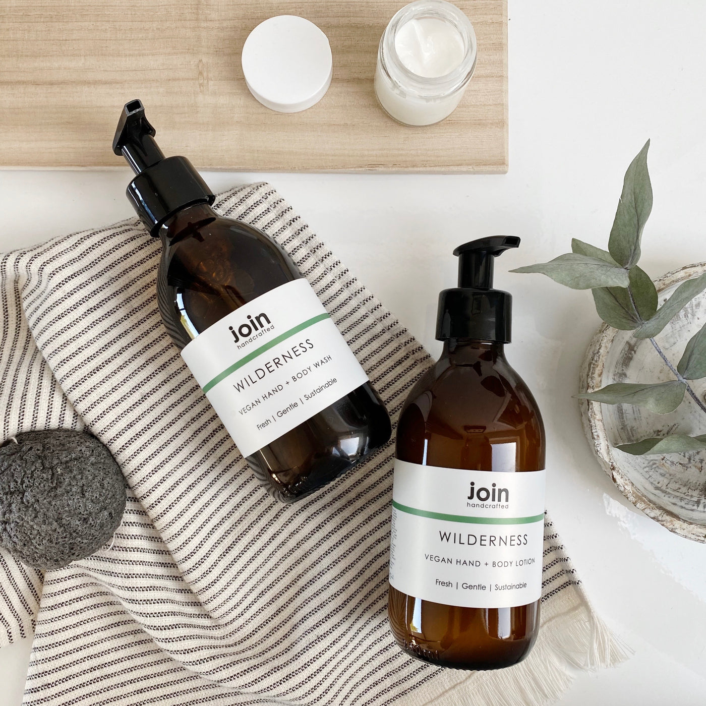 Join Wilderness Hand & Body Lotion
