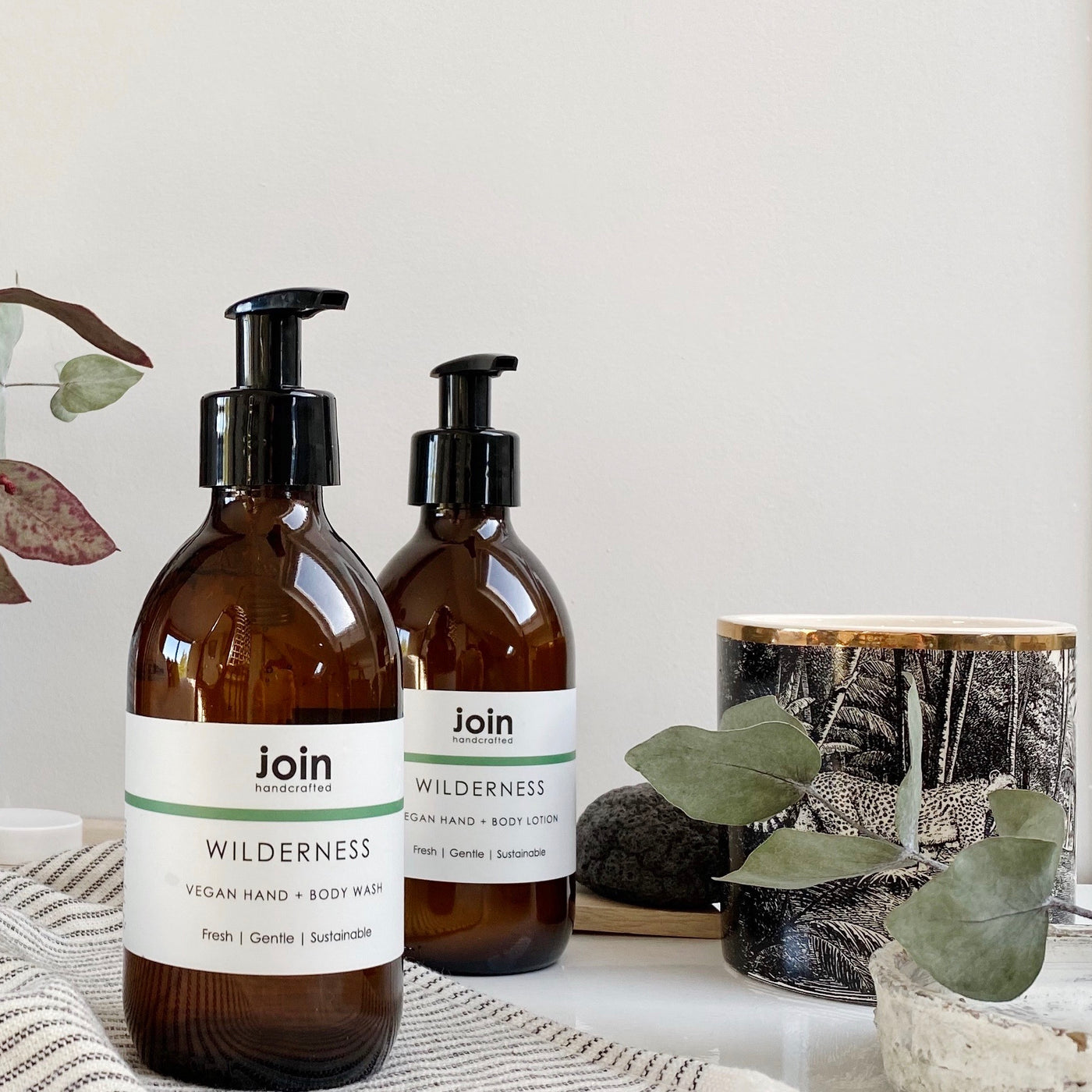 Join Wilderness Hand & Body Wash