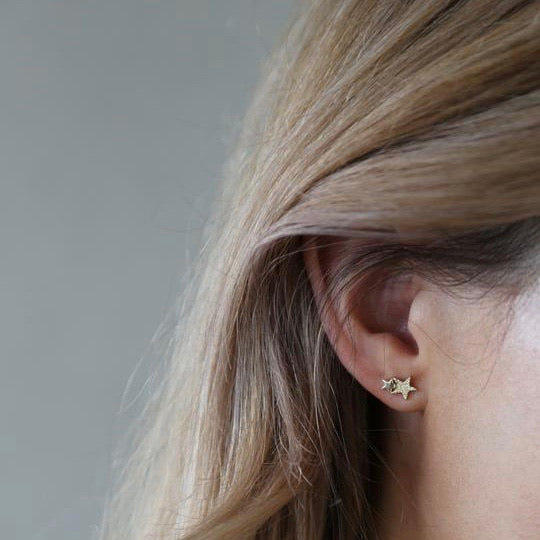Tutti & Co Starlight Earrings - Gold