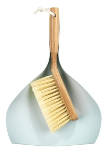 Bamboo Dustpan and Brush Small