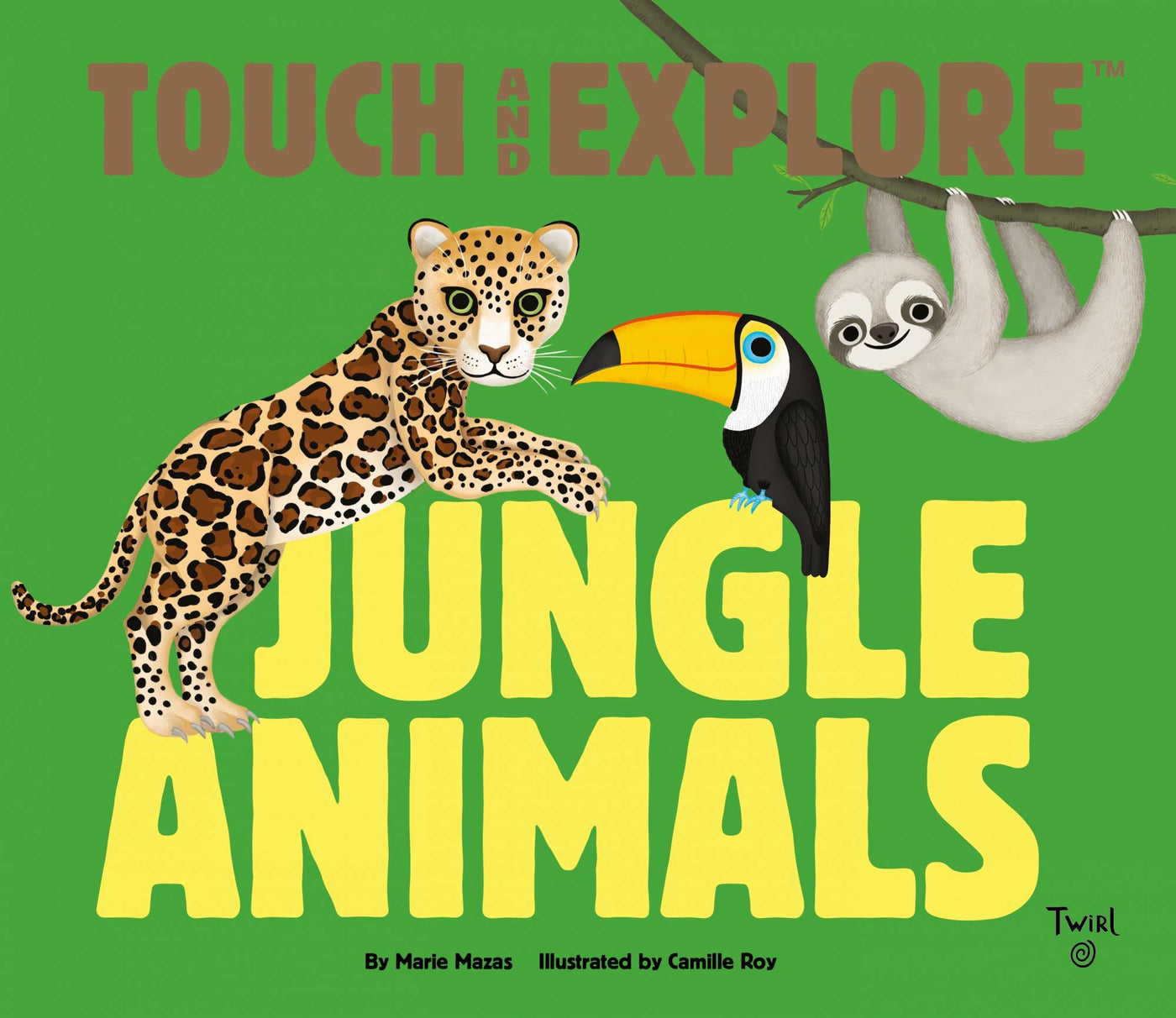 Touch and Explore Jungle Animals