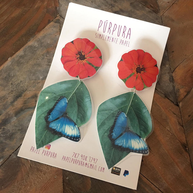 Mariposas Earrings