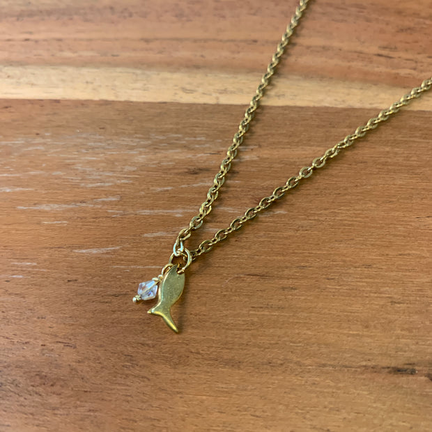 Mini Fish Necklace