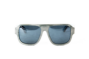 Snapwave Black + Blue Maple Wood Sunglasses