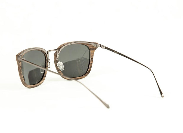 Bridge Walnut Sunglasses