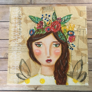Flower Girl II Art-Localstorypr