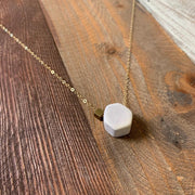 Hexagon Necklace No. 1
