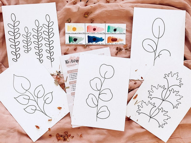 Artsy Boho Watercolor Kit