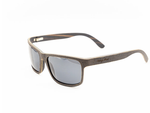 Epsom Cork Ebony Sunglasses