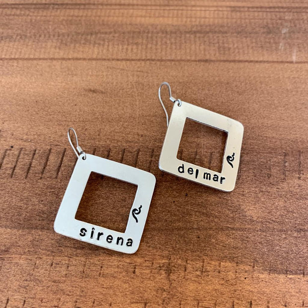 Sirena del Mar Earrings