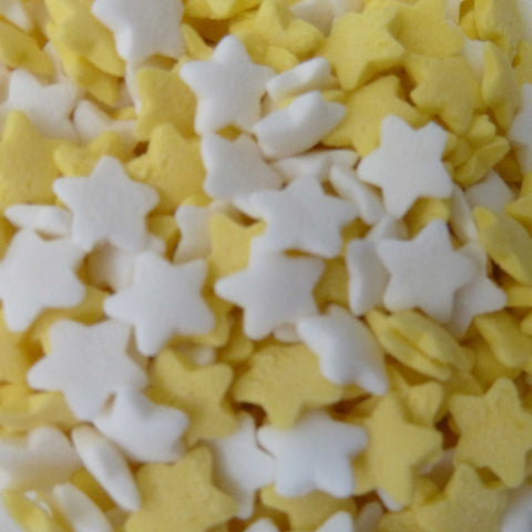 Stars - Yellow and White