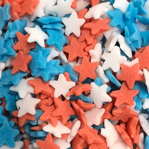 Stars - Red, White and Blue