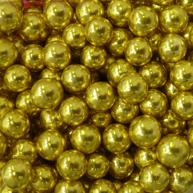 Pearls metallic - Gold 6mm