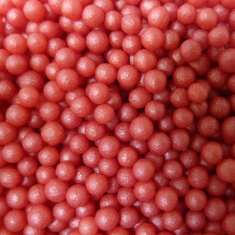 Glimmer Pearls - Red