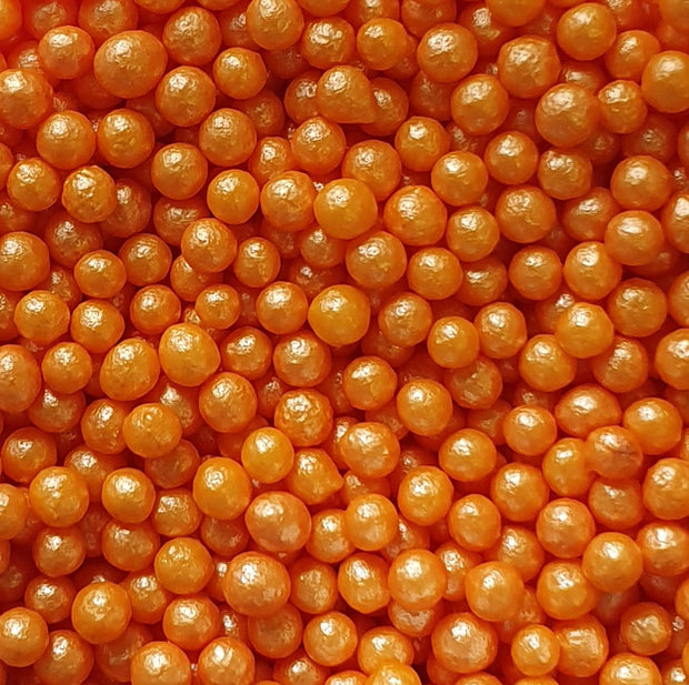 Glimmer Pearls - Orange