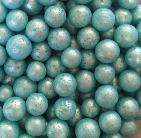 Glimmer Pearls 7mm - Turquoise