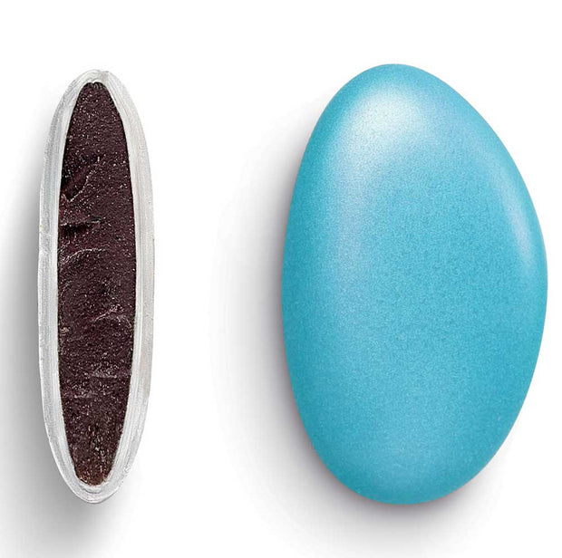 Chocolate Pebbles - Pearlescent Baby Blue Discounted