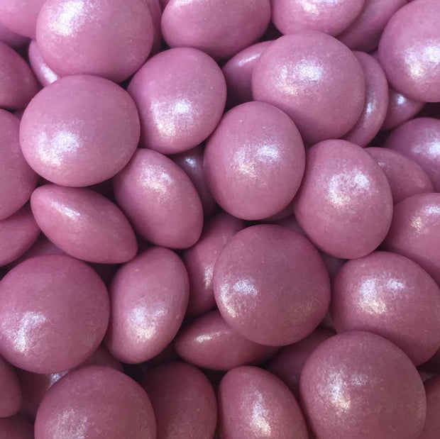 Mini Chocolate Beans - Pearlescent Baby Pink