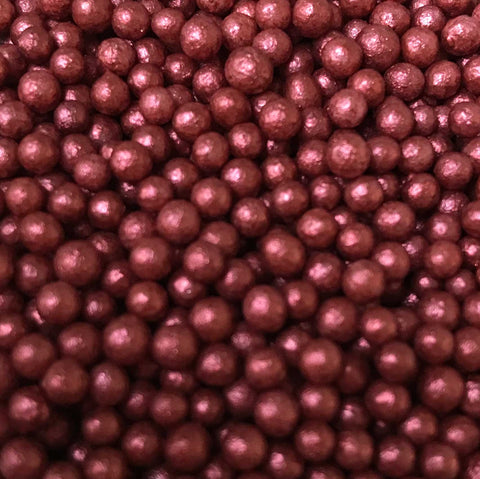 Glimmer Pearls - Bordeaux