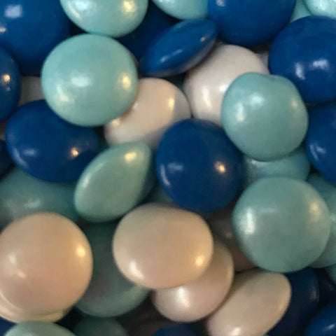 Mini Chocolate Beans - Blue Mix