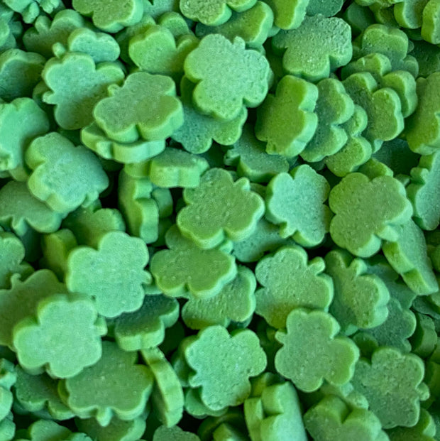 Shapes - Shamrocks - Bright Green