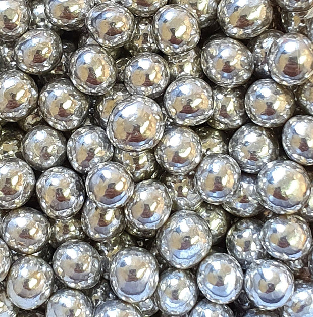 Chocoballs - Mini Crispy - Metallic Silver