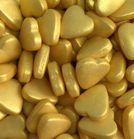 Shapes - Hearts - Tablet - Gold
