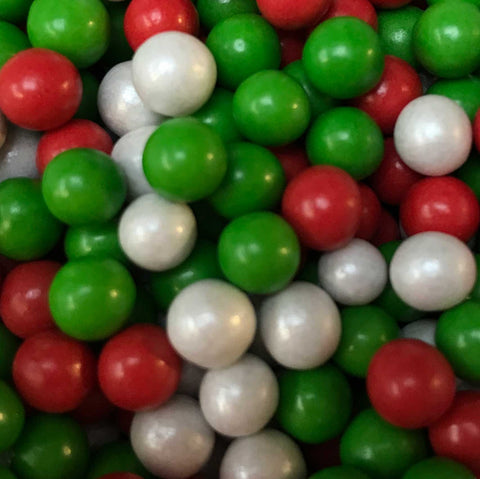Chocoballs - Small - Red, White and Green