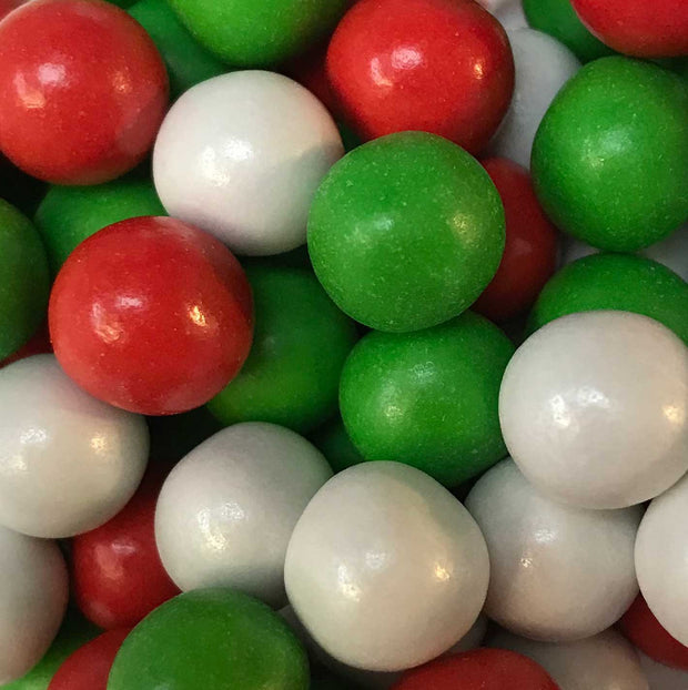 Chocoballs - Large - Red, White and Green