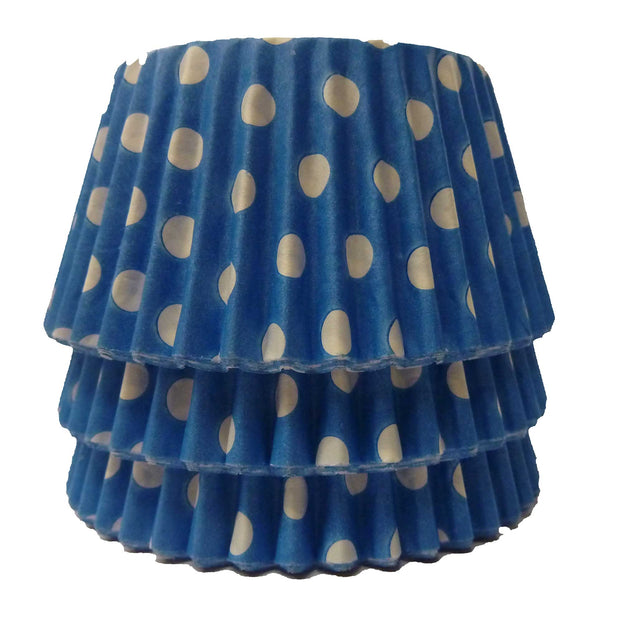 Cupcake Cases - Polkadot - Blue