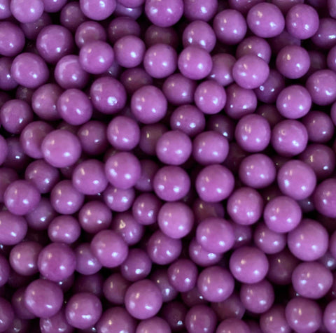 Polished Pearls 4mm - Purple