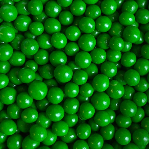 Polished Pearls 4mm - Green
