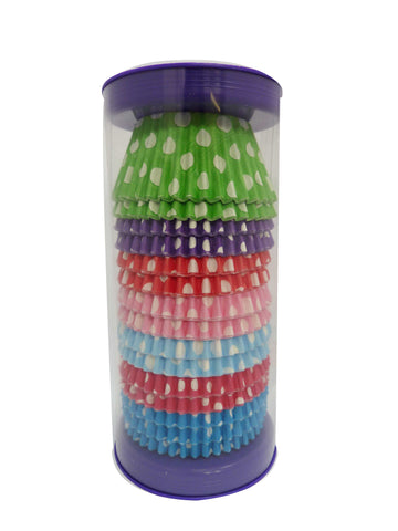 Cupcake Cases - Mixed - Polkadot