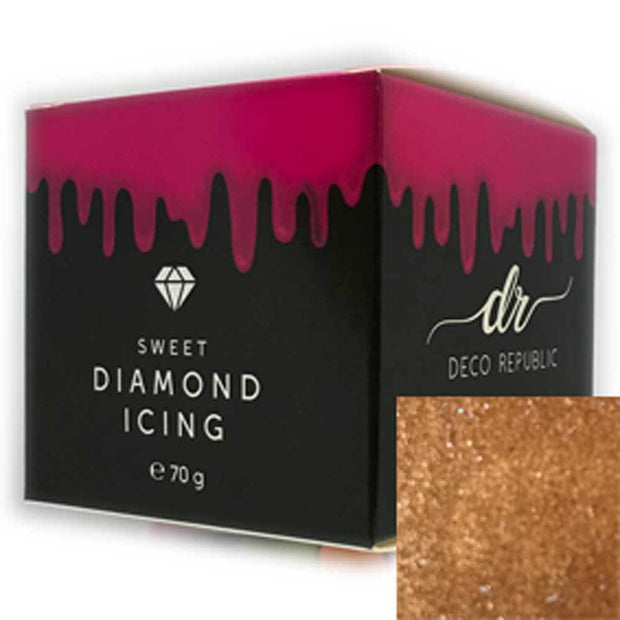 Diamond Icing - Bronze 70g