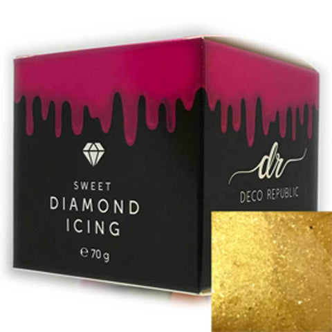 Diamond Icing - Gold 70g