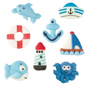 TRADE Toppers - Sugar Sea Set - Flat - Assorted