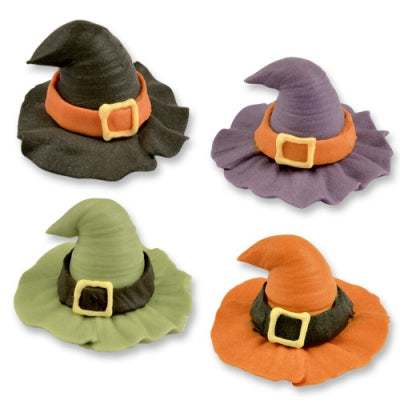 TRADE Toppers - Sugar Witches Hats - Assorted