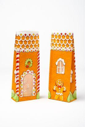 Presentation Bags - Gingerbread House